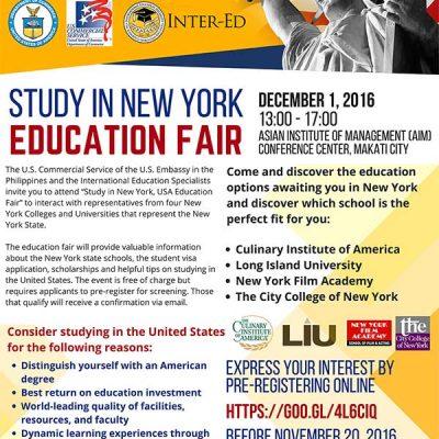 Study in New York USA