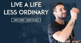 live a life less ordinary