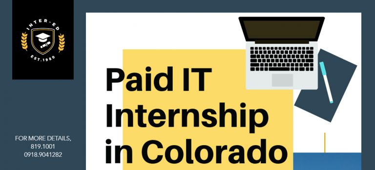 Paid IT Internship In Colorado, U.S.A.