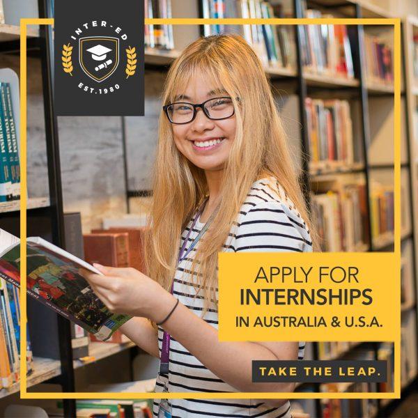 Apply for Internships