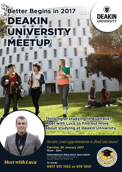 Deakin University Meetup