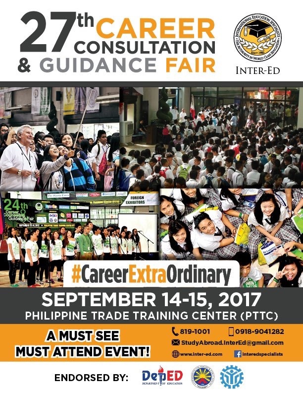 Career Consultation and Guidance Fair for SHS set on September 14-15.