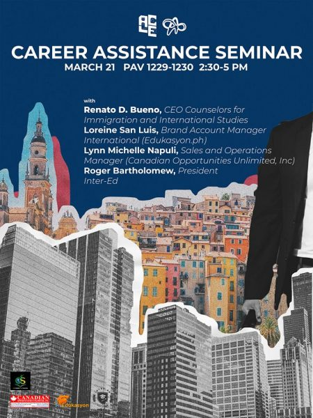 UP Career Assistance Talk - 21 March 2019